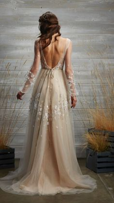 - Repinned by Prindler Productions - Featured Dress: Tara Lauren; Wedding dress idea.