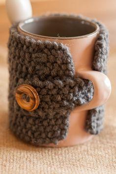 Un mug tricot