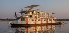 Photos - The Pangolin Voyager Houseboat journeys along the Chobe and Zambezi Rivers (on the Namibian side) throughout the year hosting guests in both luxury and comfort as Continents, Cruise, Wildlife, Fair Grounds, Around The Worlds, Luxury, Boats, Travel, Gallery