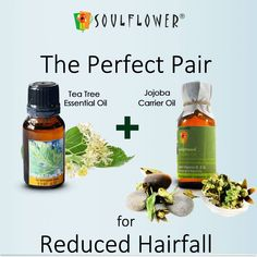 The perfect Pair for reduced hairfall