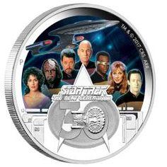 "2017 $20 1oz Silver Coin Star Trek "" The BORG"""