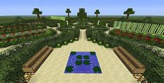 French garden 2 Minecraft Project