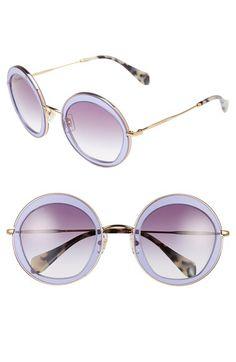 Miu Miu 52mm Retro Sunglasses available at #Nordstrom