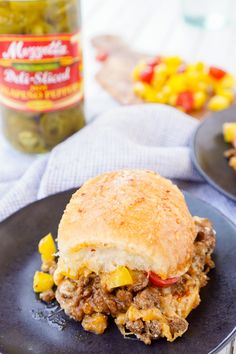 These Easy Taco Sliders are a great alternative to traditional tacos! They're simple to make and loaded with flavor, a sure crowd-pleaser!