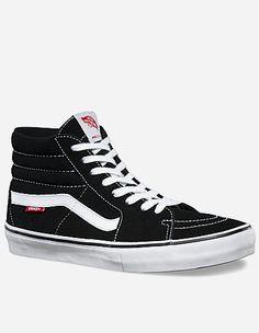 Vans - Sk8-Hi Pro Schuh black, white, gum
