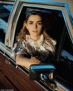 """On second thoughts: 'I'll type something and think, """"This is funny,"""" then I'll think about... Betty Draper, Sally Draper, Mad Men, Avatar, Kiernan Shipka, Sabrina Spellman, Beautiful Goddess, Thing 1, Fancy Hairstyles"""