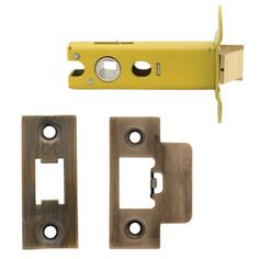 Altro Heavy Duty Tubular Latch - 78mm Case - 57mm Backset - Florentine Bronze at…