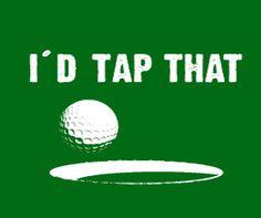 Golf humor. :)