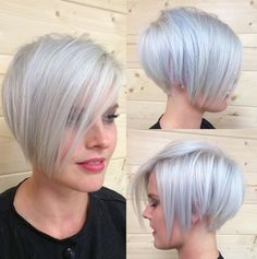 short blonde pixie cut with bangs for fine thin hair