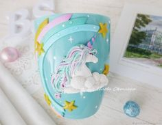 Clay Crafts, Arts And Crafts, Polymer Clay Recipe, Clay Cup, Cute Clay, Clay Food, Polymer Clay Pendant, Xmas Presents, Cup Design