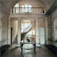 Chateau de Groussay, Italianate House near Chantilly, France is featured in World of Interiors Sept 2011
