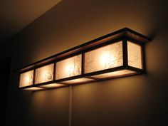 Style Lamp - by @ ~ woodworking community. Washi paper glued to glass roughened by 60 grit. Lamp Design, Diy Vanity Lights, Lamp, Diy Outdoor Lighting, Lights, Light, Outdoor Lighting Design, Japanese Lamps, Diy Lighting