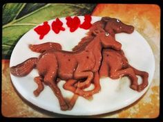 Horses Jello Cake by jchau