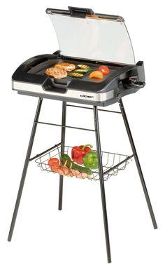 Cloer 6720 Schwarz Silber Barbecue Elektrogrill: Amazon.de: Garten