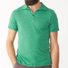 Alternative Apparel Berke Urban Polo Shirt