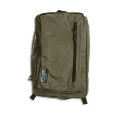 Back Pack - Khaki Green