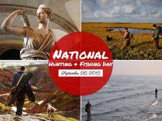 It's National Hunting and Fishing Day!! Woohoo! Are you ready? #iboatsdotcom #huntingandfishing