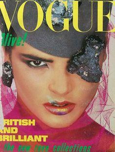August 1984. Model: Talisa Soto.