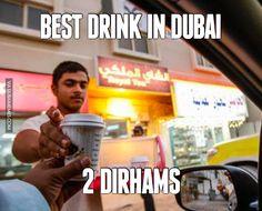 Best drink in Dubai - 2 dirhams  #dubai #onlyindubai #dubaiproblems #dxb #dubailife #uae #mydubai #sharjah #abudhabi #alain #dubaiexpat #dubaimemes #dubaimall #myuae