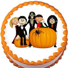 Vampire Gang Halloween Edible Cake Topper | My Party Helpers | http://mypartyhelpers.com/products/vampire-gang-halloween-edible-cake-topper