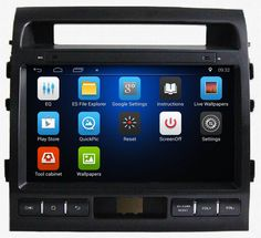 Ouchuangbo android 6.0 car audio gps for Toyota Land Cruiser 2010-2012 with radio bluetooth wifi usb mirror link