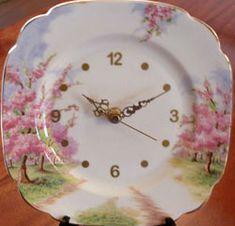 Royal Albert - Blossom Time-Clock Plates - Collector Plates www.royalalbertpatterns.com