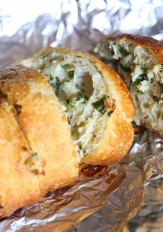 This Garlic Bread is the best you will ever make...it's buttery, cheesy and LOADED with fresh garlic!