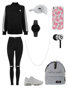 """polyvore"" by jesy-smith on Polyvore featuring mode, adidas Originals, Topshop, NIKE, Eastpak, CLUSE, Fremada, Skinnydip et Beats by Dr. Dre"