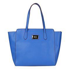 31b3c9899 Compre Bolsa Santa Lolla Tote Shopper Azul na Zattini a nova loja de moda  online da