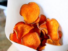 Christina's Cucina: Oven Baked Sweet Potato Chips (Crisps) & a Culinary Bucket List for 2013