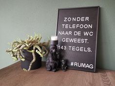 8x Leuke letterbord quotes voor op de WC - LovestoHAVE Dutch House, Dutch Quotes, Quotes And Notes, Powerful Words, Letter Board, Humor, Cool Stuff, Posters, Illustrations