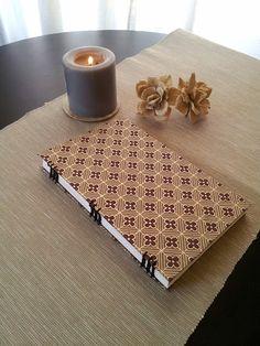 Coptic Stitch Journal/Sketchbook by PaperMadeCraftShop on Etsy