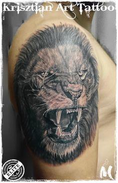 Lion roar  - Krisztian Art Tattoo