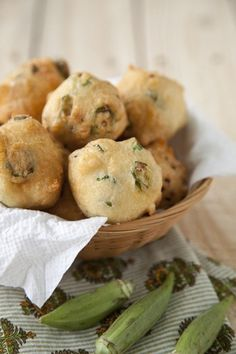 Check out what I found on the Paula Deen Network! Okra Fritters http://www.pauladeen.com/recipes/recipe_view/okra_fritters