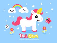 unicorns | unicorn by fruity cutie i love unicorns they are so whimsical and cute