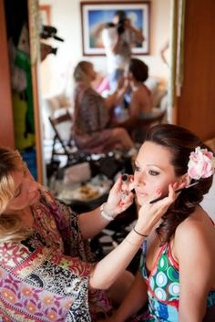 Λένα, bridal make up!