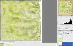 TÉCNICA: Plantillas de papel colorizing con modos de mezcla - Scrapbook-Bytes | Foro digital Scrapbooking