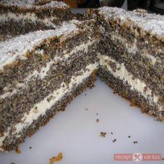 Marzipan Cake, Poppy Cake, Tiramisu, Ham, Cookies, Ethnic Recipes, Food, Mascarpone, Crack Crackers