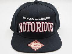 Biggie Notorious BIG Retro Vintage Bad Boy Throwback Skate Snapback Hat Cap  #BrooklynMint #BaseballCap