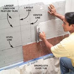 Installing stone tile
