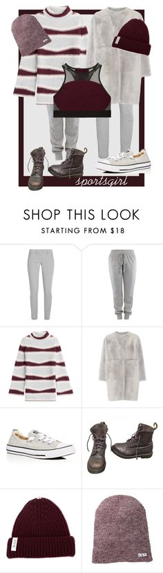 """""""sportsgirl"""" by glasspaperscizzors on Polyvore featuring DKNY, Kenzo, Karl Donoghue, Converse, Dr. Martens, Bobbl, Neff and Victoria's Secret"""