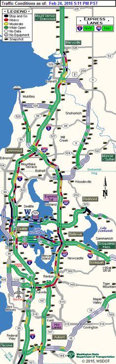 Seattle Traffic Flow