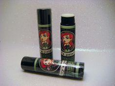 Poison Ivy Inspired Lip Balm  Ivy's Poison by GeekFireLabs on Etsy, $3.75