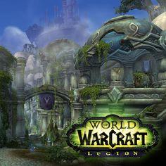 "Azsuna Night Elves - World of Warcraft ""Legion"" (and extra), Fanny Vergne on ArtStation at https://www.artstation.com/artwork/EZ19A"