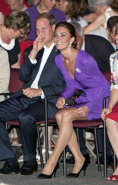 William and Kate at a Concert