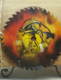 Firefighter #1 by RAD AIRBRUSH