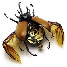 Mechanical clockwork bug