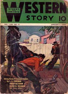 Rough Edges: Saturday Morning Western Pulp: Western Story, Janu...