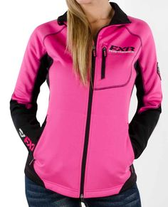 FXR Women's ELEVATION FULL ZIP FLEECE (2015).  $84.99.  Sizes 2-18! •100% polyester bonded fleece •260g Thermal fleece •Interior fleece provides exceptional warmth •Bonded fleece wicks moisture •Dries quickly •Contrast flat-lock seaming for stream-lined comfort •Embroidered logos •Zippered chest and hand pockets http://www.upnorthsports.com/snowmobile/snowmobile-clothing/mid-layer/fxr-womens-elevation-full-zip-fleece-2015.html