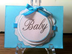 Simple Baby card.